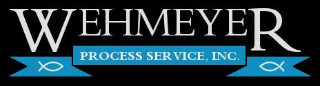 Wehmeyer Process Service, Inc. 918-274-8588
